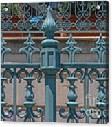 Ornate Fence Acrylic Print