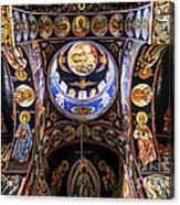 Orthodox Church Interior Acrylic Print by Elena Elisseeva