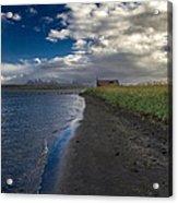 Osar Beach Iceland Acrylic Print