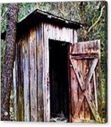 Outhouse Acrylic Print
