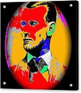 Outlaw Gang Leader Train Bank Robber Murderer Jesse James Collage 1875-2009 Acrylic Print
