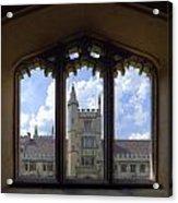 Oxford Acrylic Print