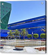 Pacific Design Center West Hollywood Ca Blue Whale Acrylic Print