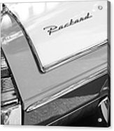 Packard Taillight Acrylic Print