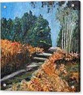 Paesaggio Acrylic Print by Niki Mastromonaco