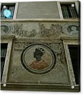 Painted Wall Acrylic Print