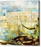 Palace And Park Of Versailles Acrylic Print