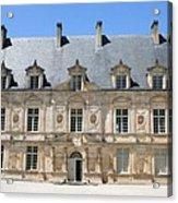 Palace Bussy Rabutin - Burgundy Acrylic Print