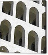 Palazzo Della Civilta' Romana Acrylic Print