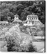 Palenque City Acrylic Print