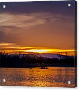 Palisade Sunset Acrylic Print