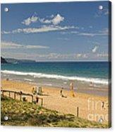 Palm Beach Sydney Acrylic Print