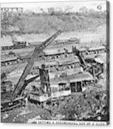 Panama Canal, 1910s Acrylic Print