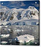 Paradise Bay, Antarctica Acrylic Print