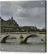 Paris 3 Acrylic Print