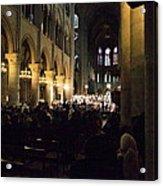 Paris France - Notre Dame De Paris - 01131 Acrylic Print