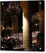 Paris France - Notre Dame De Paris - 01136 Acrylic Print