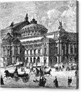 Paris Opera House, 1875 Acrylic Print