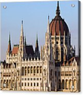 Parliament Building In Budapest Acrylic Print