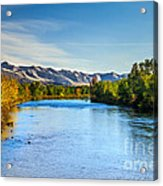Peaceful Payette River Acrylic Print