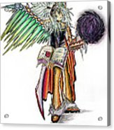 Pelusis God Of Law And Order Acrylic Print
