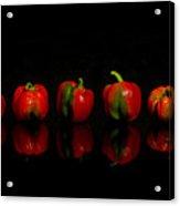 Pepper Reflections 2 Acrylic Print