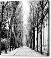 Pere-lachais Cemetery In Paris France Acrylic Print