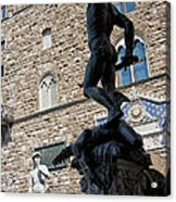 Perseus By Cellini Acrylic Print