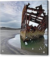 Peter Iredale At Dawn Acrylic Print