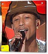 Pharrell Williams Acrylic Print