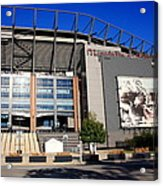 Philadelphia Eagles - Lincoln Financial Field Acrylic Print by Frank Romeo