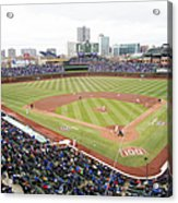 Philadelphia Phillies V Chicago Cubs Acrylic Print