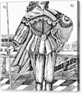Philip Herbert, Fourth Earl Acrylic Print