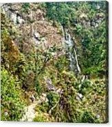 Photeng Waterfall Acrylic Print