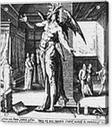 Physician As Devil Acrylic Print