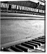 Piano Acrylic Print by Thomas Leon