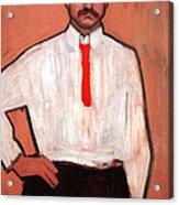 Picasso's Pedro Manach Acrylic Print