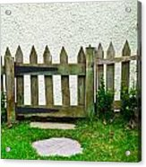 Picket Fence Acrylic Print