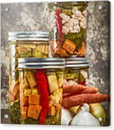 Pickled Vegetables Acrylic Print