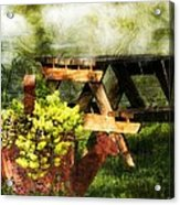 Picnic Daydream Acrylic Print