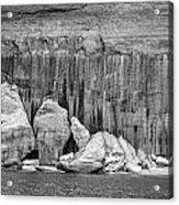 Pictured Rocks Acrylic Print