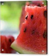 Pieces Of Watermelon Acrylic Print