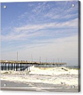 Pier At Nags Head  Acrylic Print