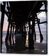 Pier In The Pacific Ocean, San Clemente Acrylic Print