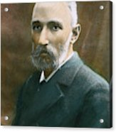 Pierre Curie (1859-1906) Acrylic Print