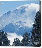 Pikes Peak Colorado Acrylic Print
