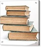 Pile Of Very Old Books Acrylic Print