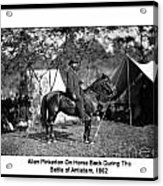 Pinkerton Man Acrylic Print
