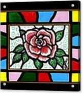 Pinkish Rose Acrylic Print