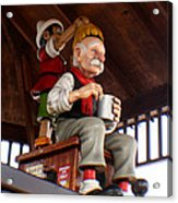 Pinocchio And Geppetto  Acrylic Print
